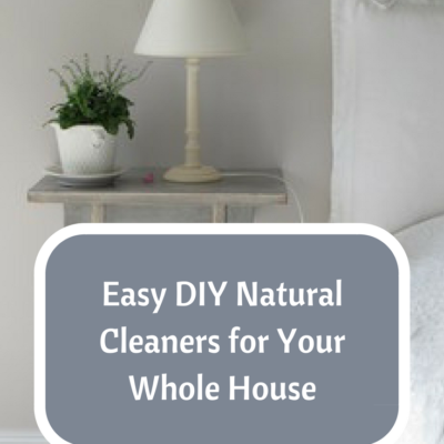 How to Make Natural Cleaners for Your Whole House