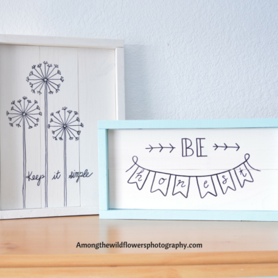 The Easiest Rustic Frame You Need to Make