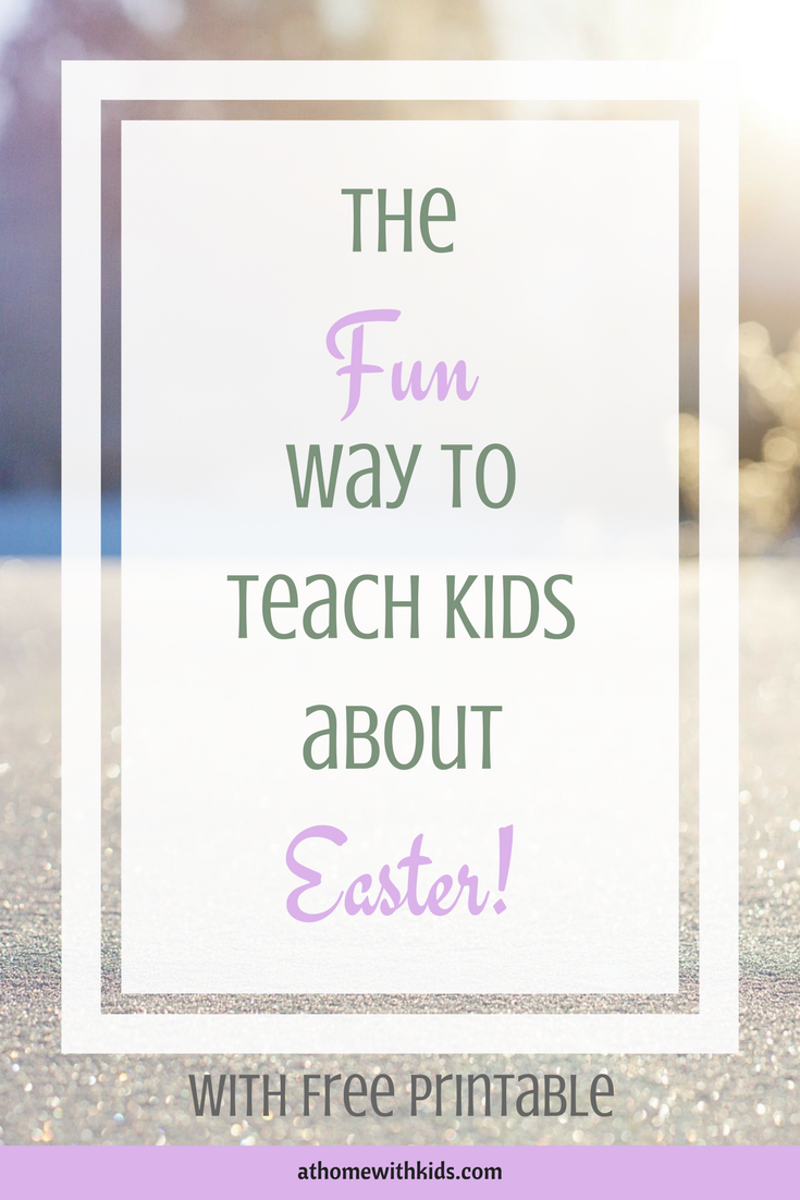Teach kids about easter