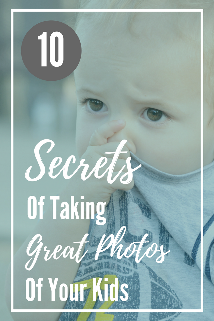 Taking great pictures of your kids