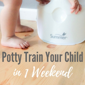 potty train your child