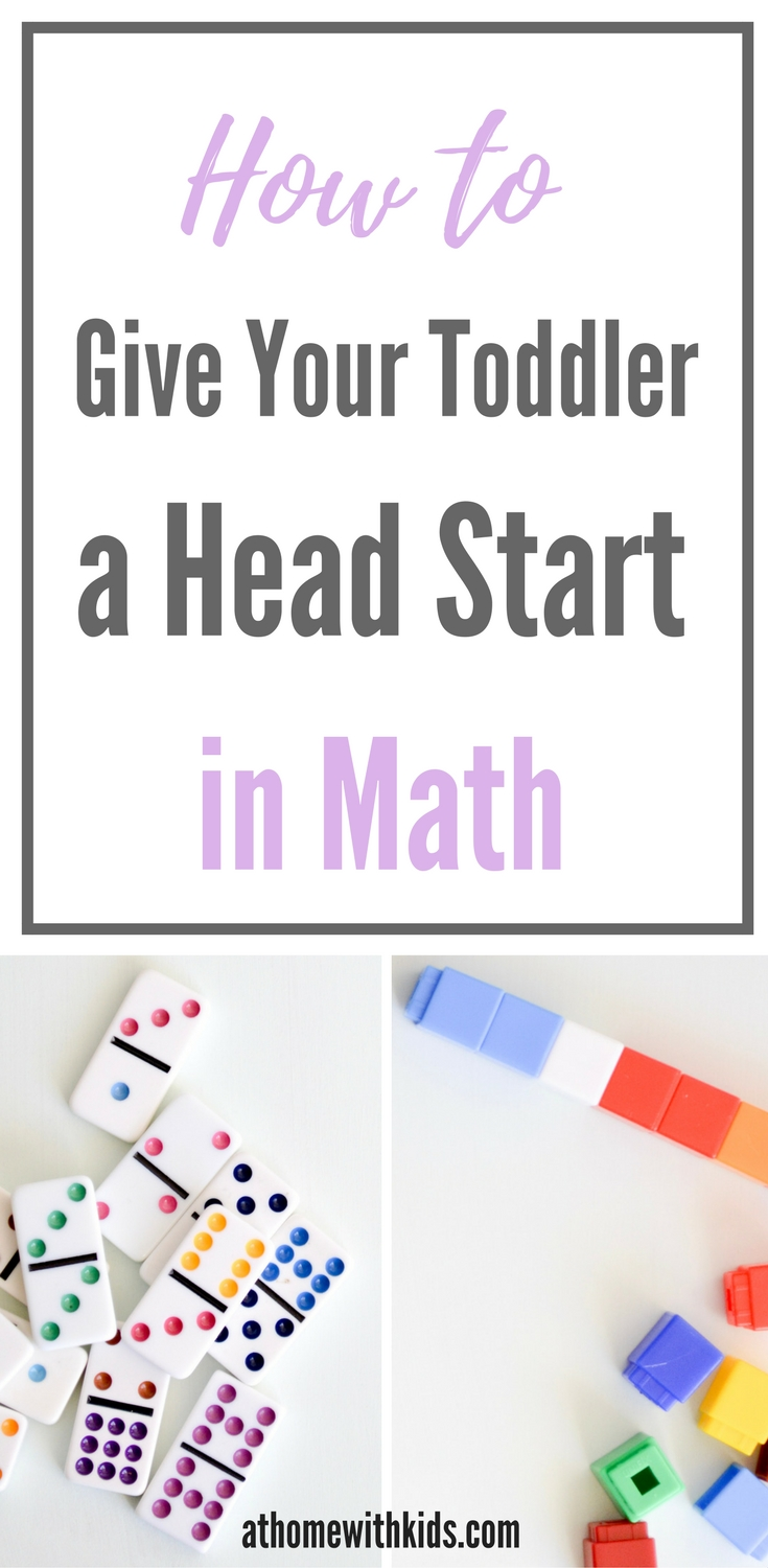 Toddler Math activities