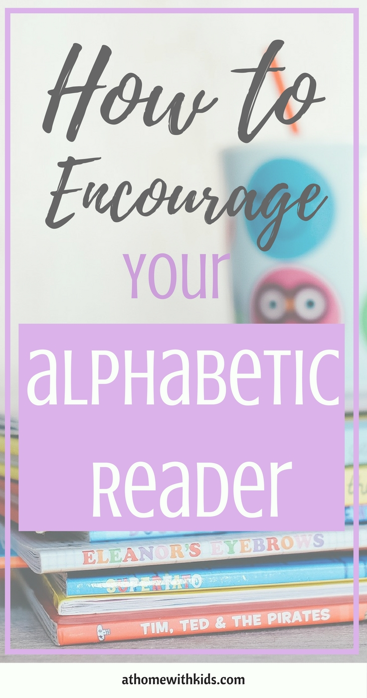 literacy development alphabetic readers