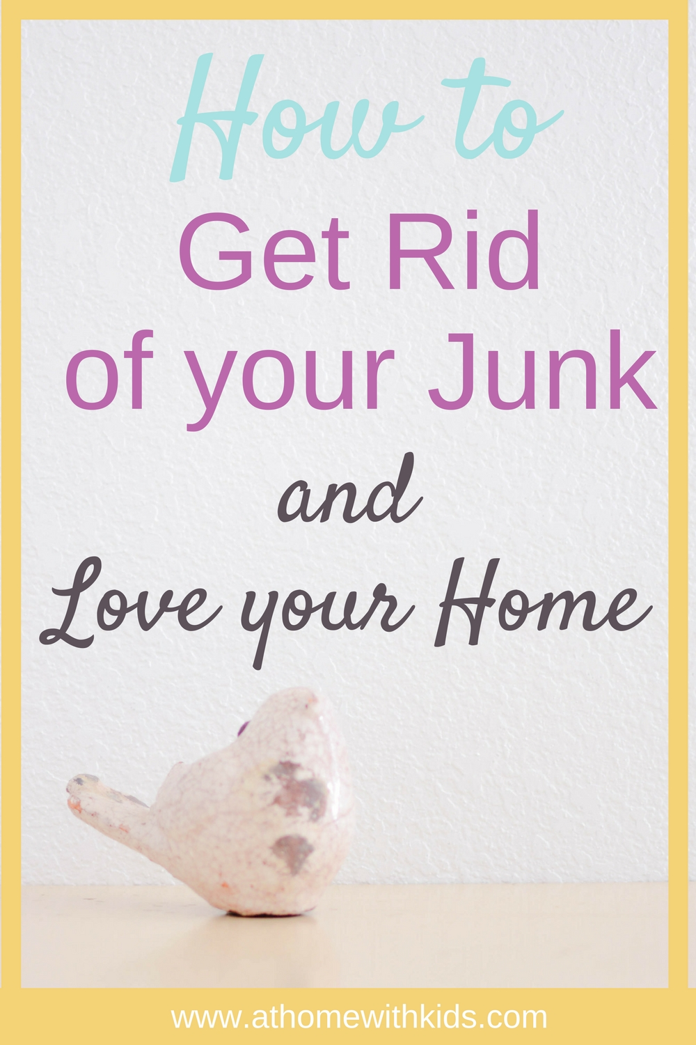 How to to eliminate your clutter for good super simple for Best way to get rid of clutter