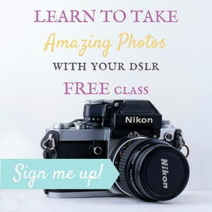 Learn to use your DSLR