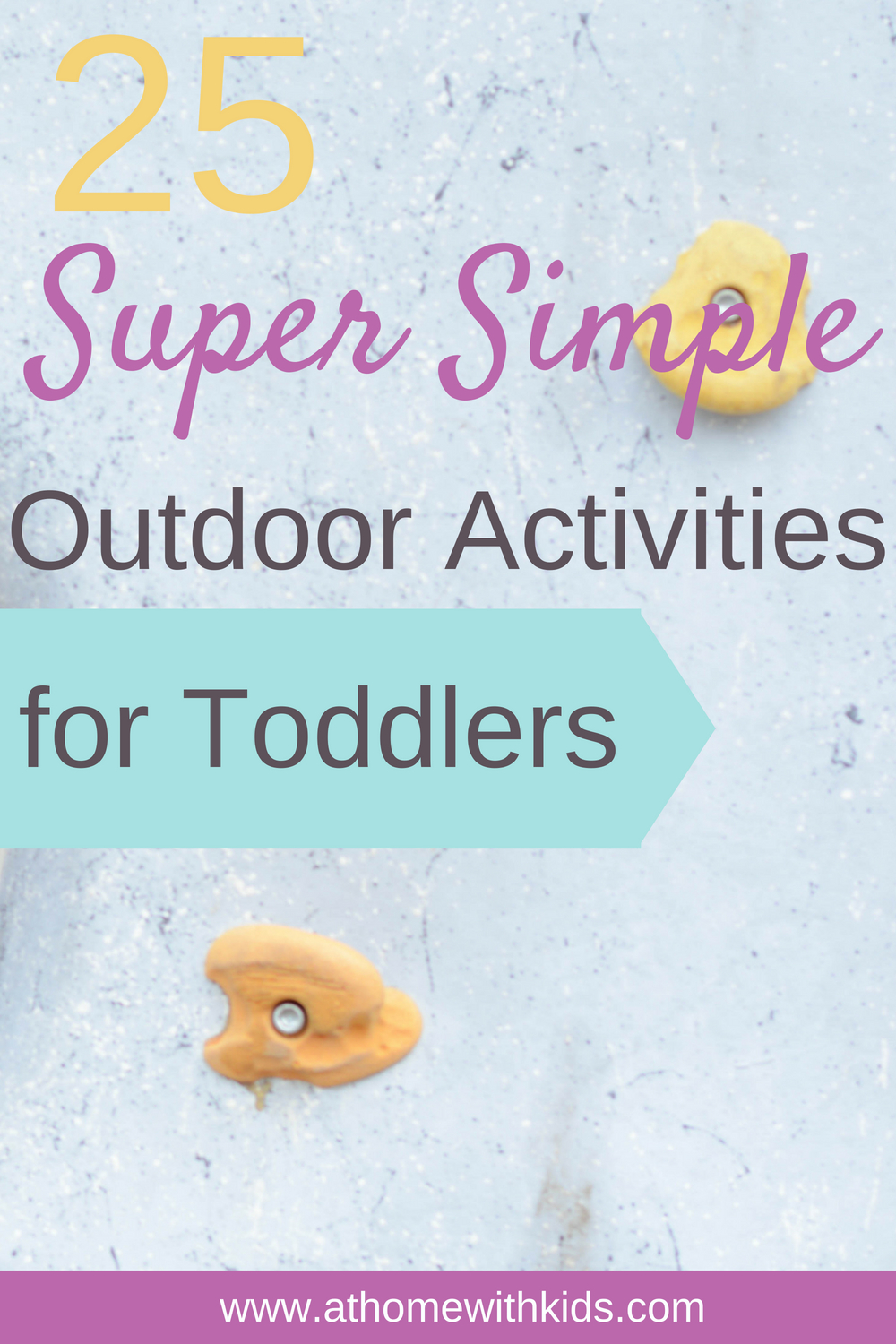 outdoor activities for toddlers