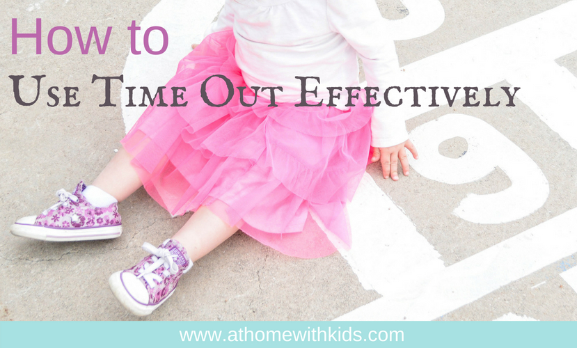How to use time out effectively