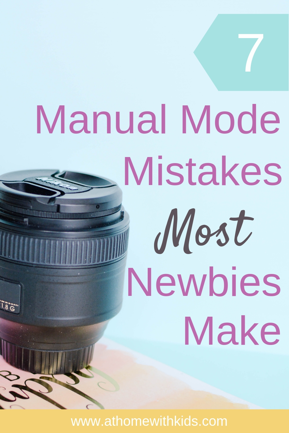 manual mode mistakes