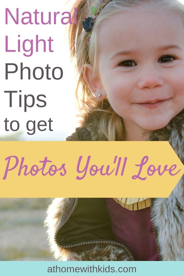 natural light photo tips