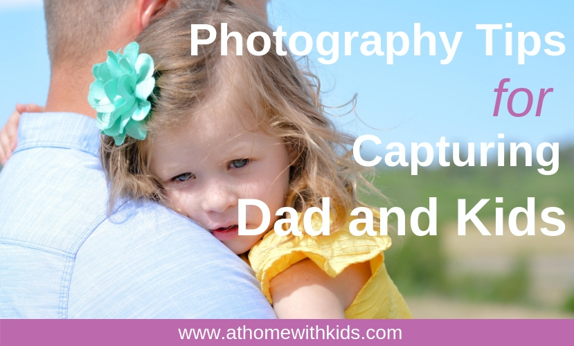 photographing dad