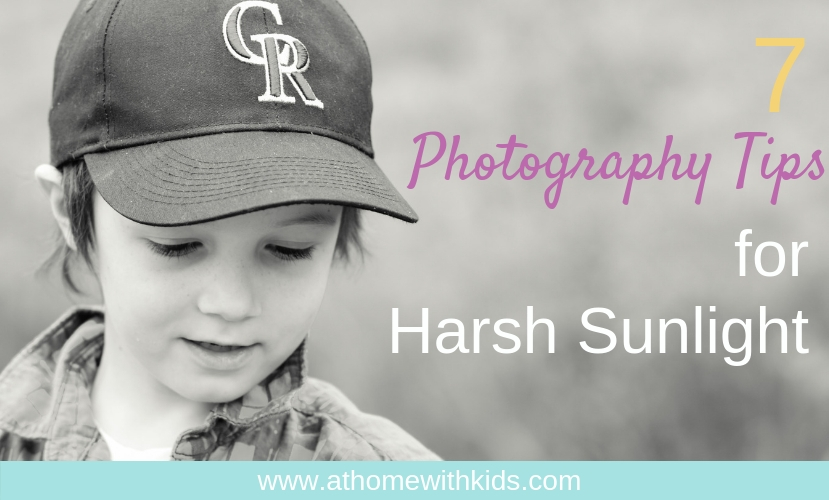 photography tips for harsh sunlight