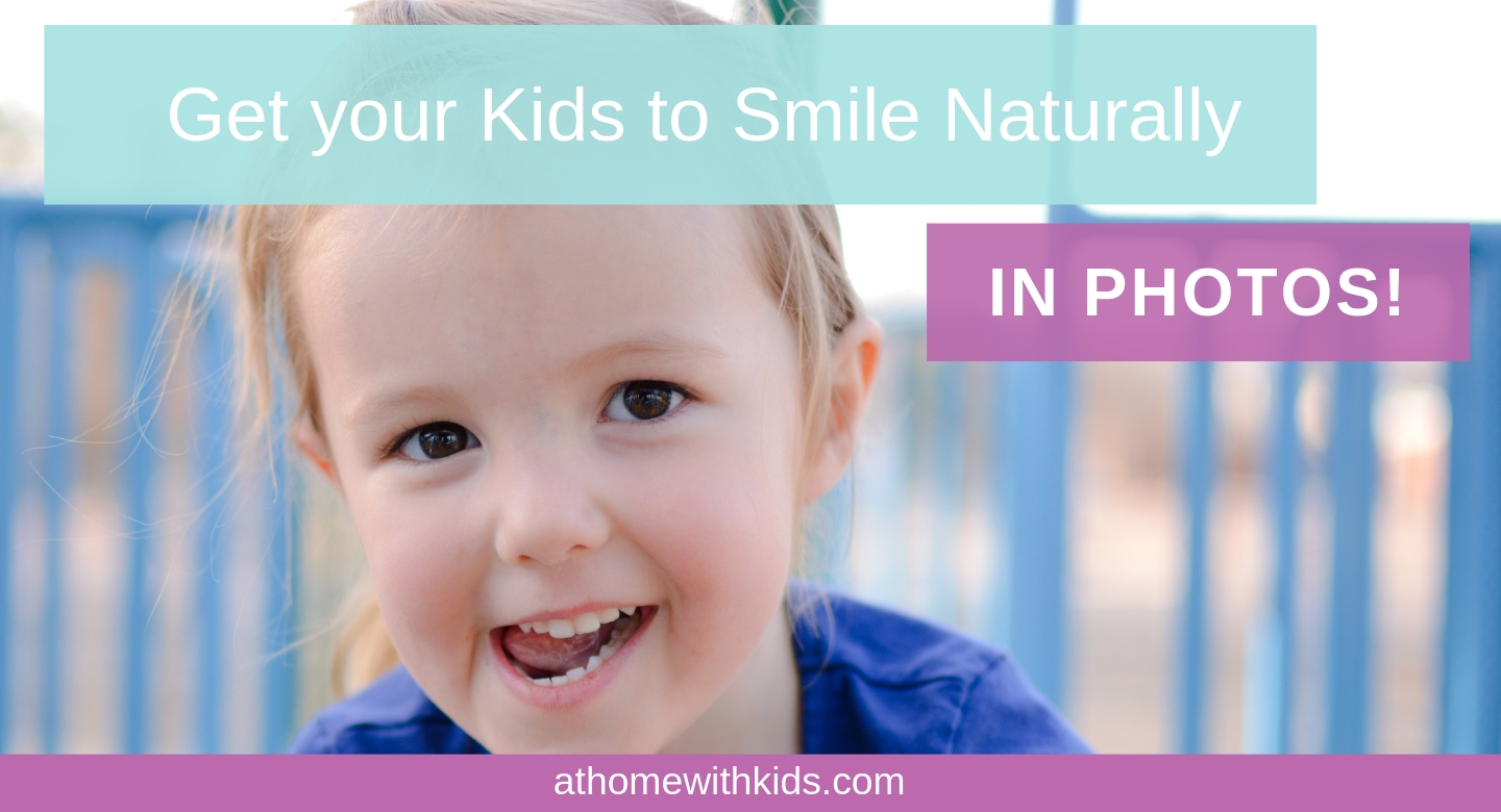 get natural smiles in your photos