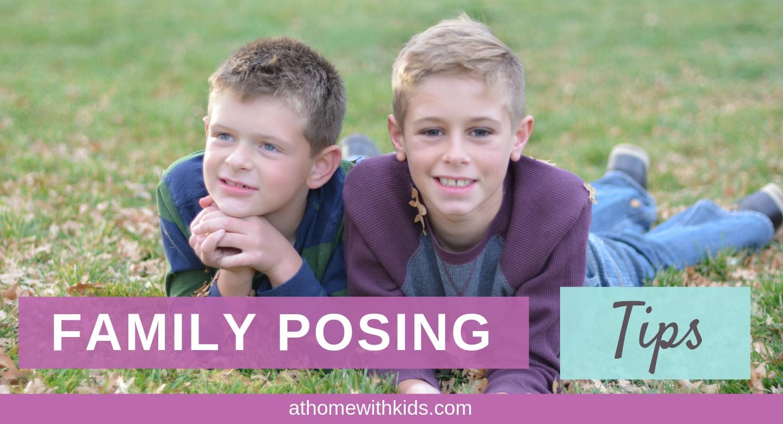 family posing tips